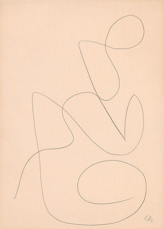 Serge Charchoune – Ornamentálny motív XXIII