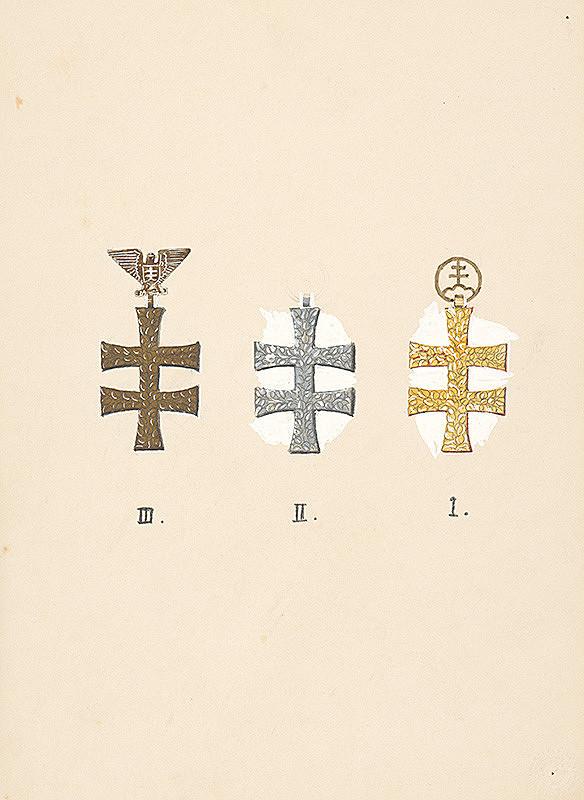 Fraňo Štefunko – Tri kríže s orlom