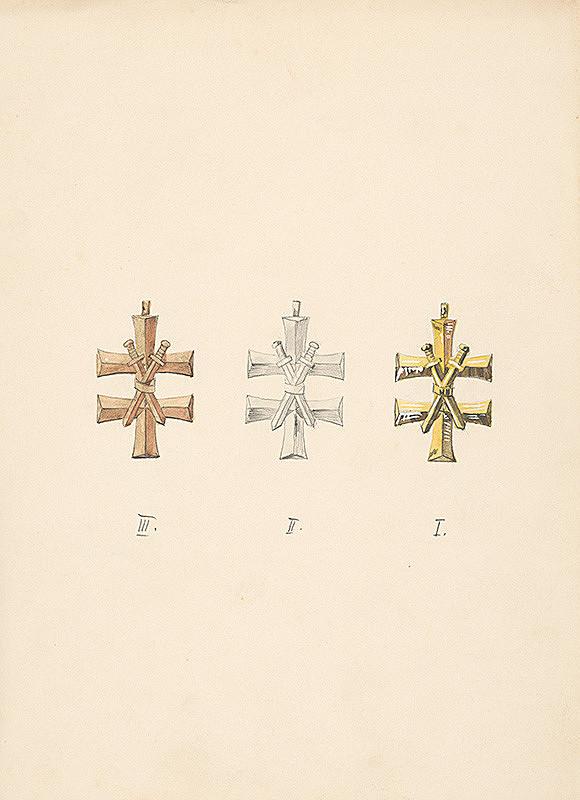 Fraňo Štefunko – Tri kríže s mečmi