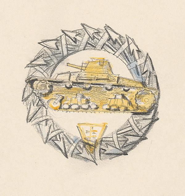 Fraňo Štefunko – Odznak pre útočnú vozku II.