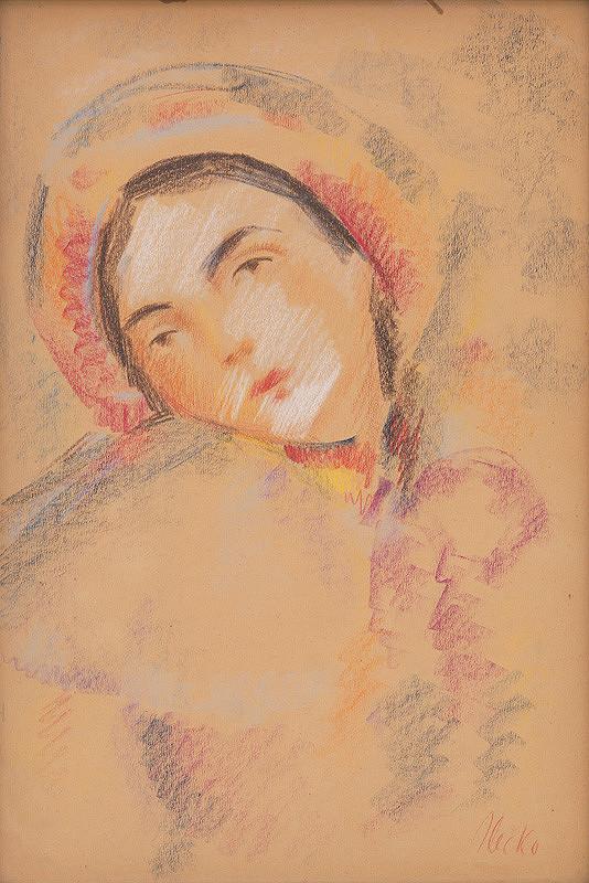 Jozef Ilečko – Dievča v kroji