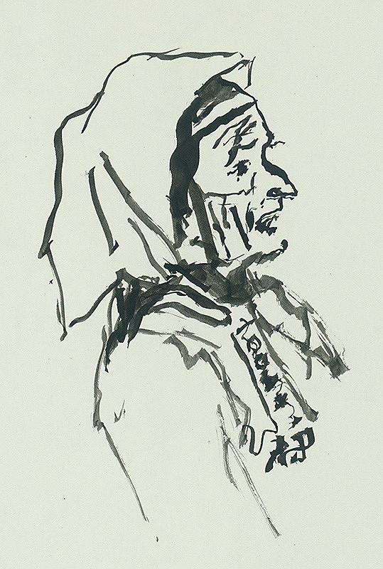 Jaroslav Vodrážka – Žena v šatke