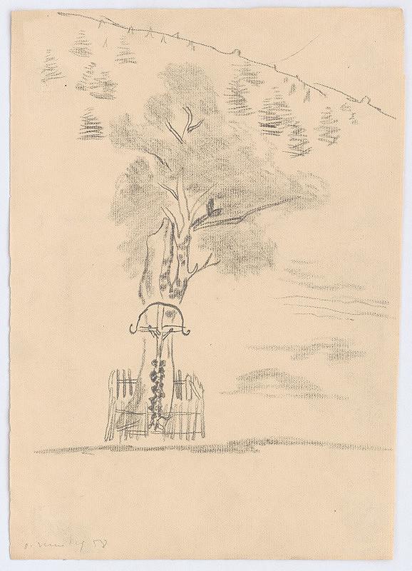 Oldřich Smutný – Strom s krížom