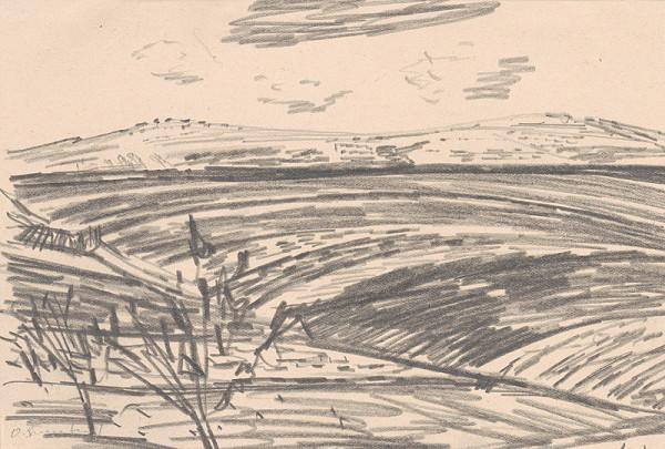 Oldřich Smutný – Štúdia krajiny