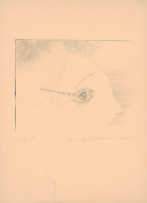 Alžbeta Štefunková-Szabová – Portrét