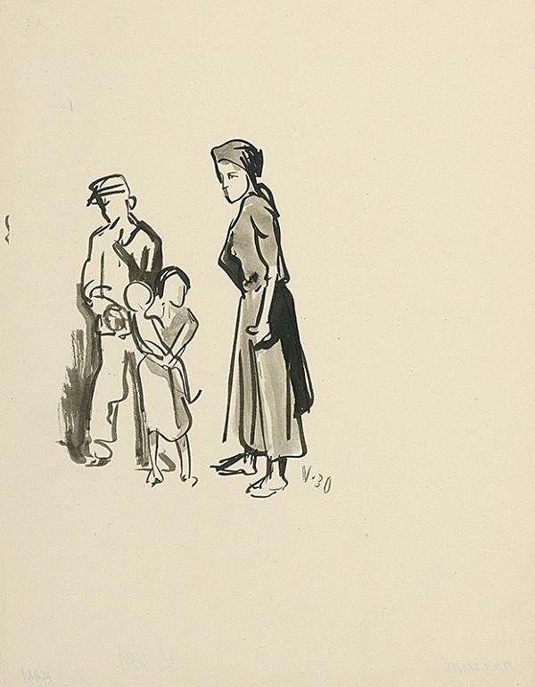 Jaroslav Vodrážka – Matka s deťmi