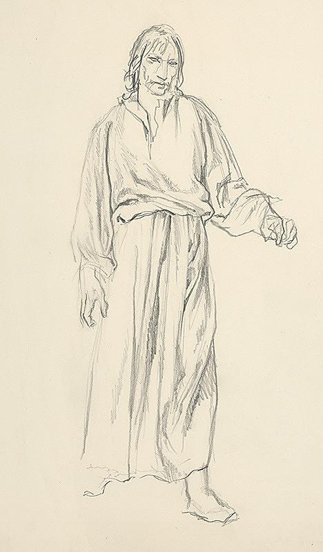 Jaroslav Vodrážka – Kráčajúci muž