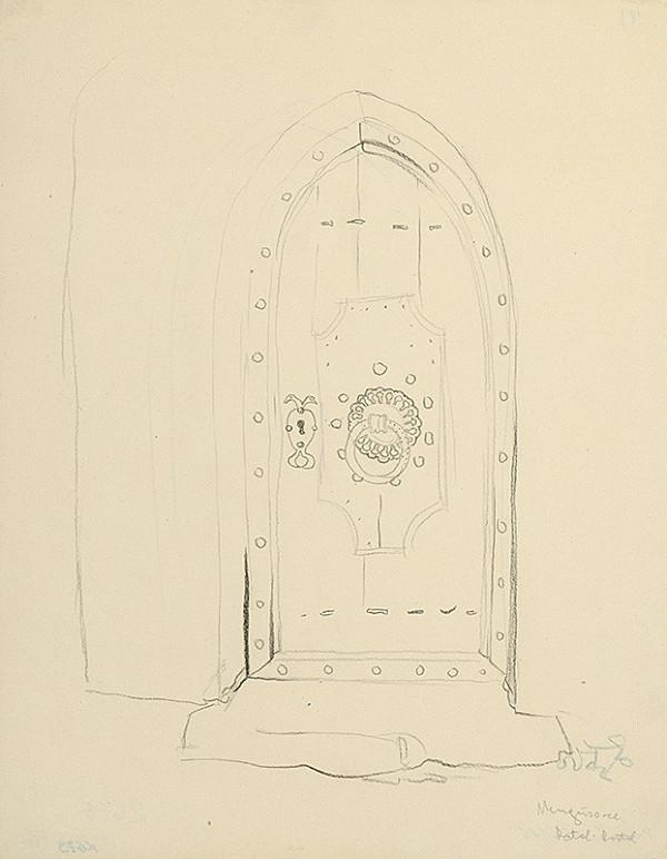 Jaroslav Vodrážka – Dvere kostola v Mengušovciach