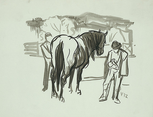 Jaroslav Vodrážka – Kôň s dvoma postavami