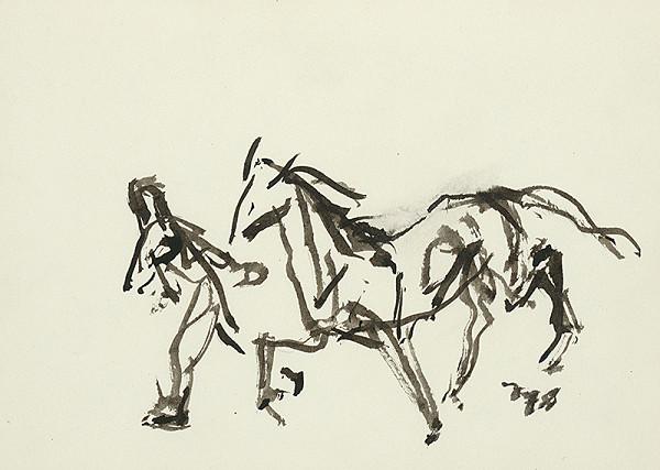 Jaroslav Vodrážka – Kôň s figúrou