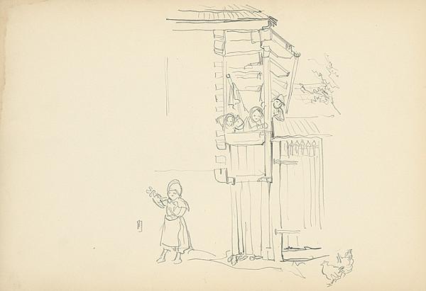 Jaroslav Vodrážka – Deti na verande
