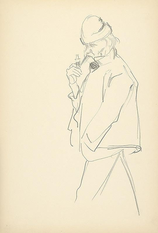 Jaroslav Vodrážka – Muž s fajkou
