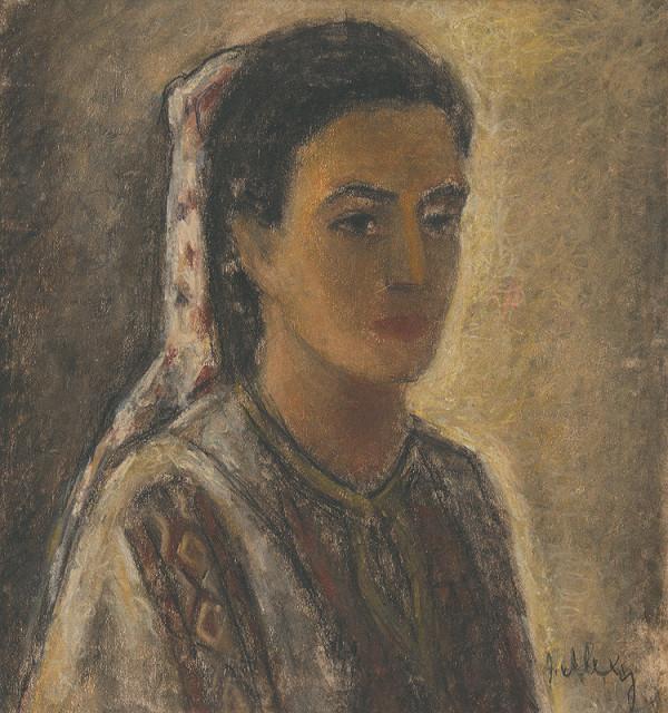 Janko Alexy – Žena v kroji