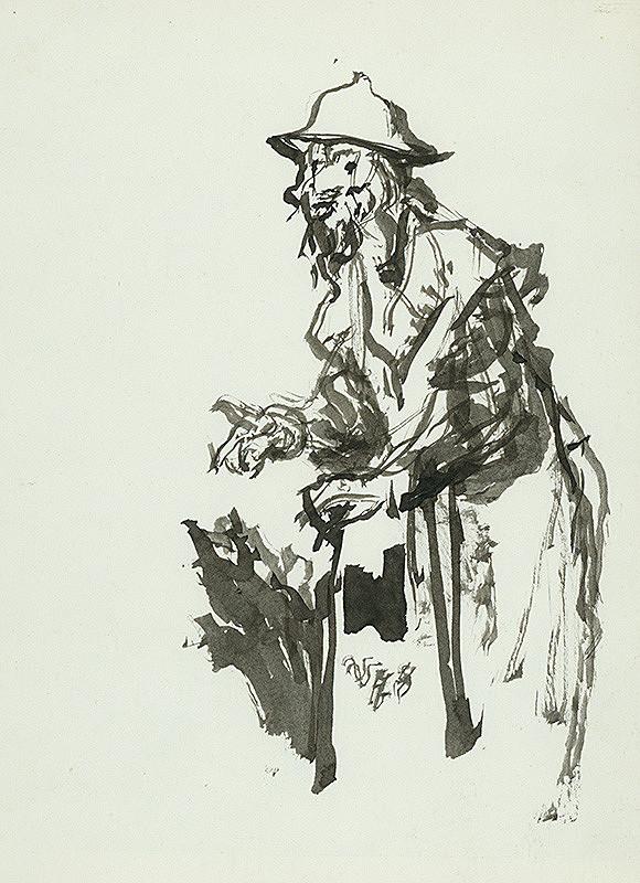 Jaroslav Vodrážka – Štúdia mužskej postavy