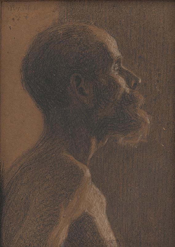 Milan Thomka Mitrovský – Poprsie bradatého muža