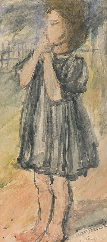 Želmíra Duchajová-Švehlová – Dievčatko