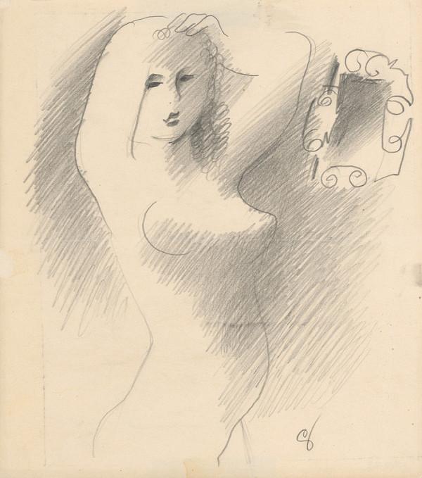 Mikuláš Galanda – Portrét pred zrkadlom