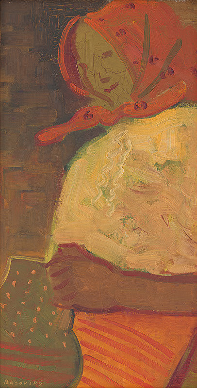 Miloš Alexander Bazovský – Žena s džbánom