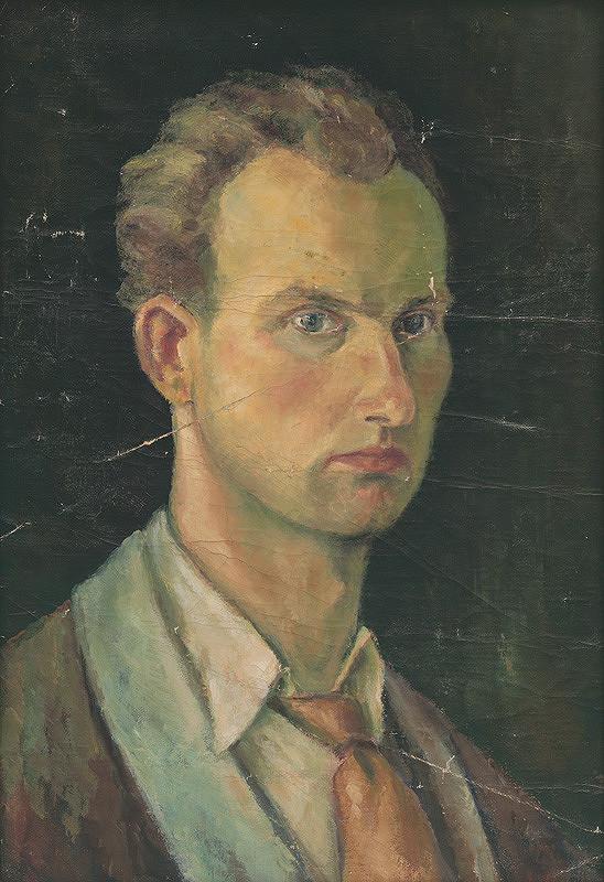 Milan Hložek – Autoportrét