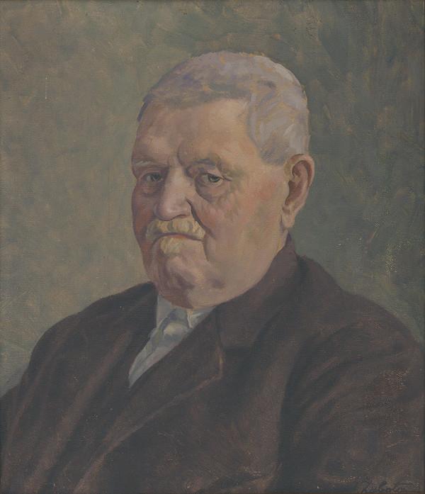 Ivan Žabota – Portrét J.Schmidta
