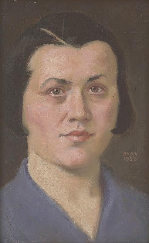 Milan Thomka Mitrovský – Žena v modrom