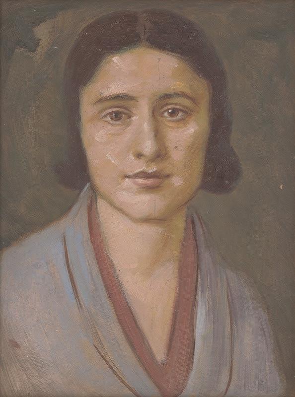 Milan Thomka Mitrovský – Žena v sivom