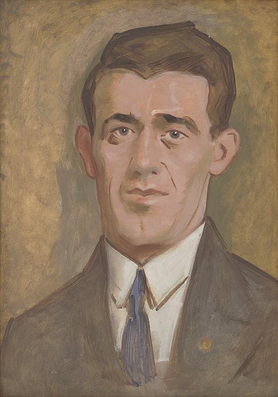 Milan Thomka Mitrovský – Muž s modrou kravatou II