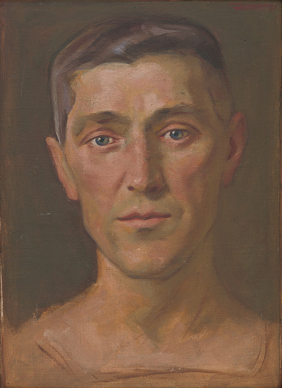 Milan Thomka Mitrovský – Poprsie mladého muža