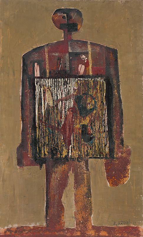 Rudolf Krivoš – Muž s klietkou