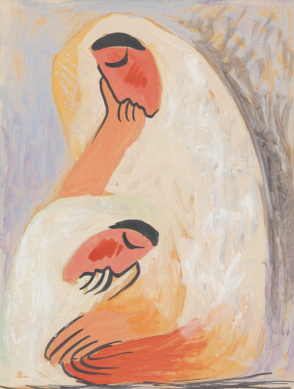 Mikuláš Galanda – Dve ženy