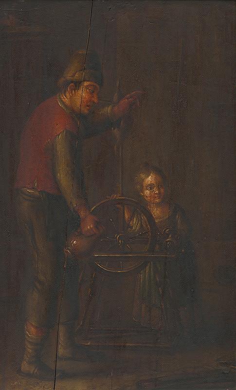Stredoeurópsky maliar – Pri kolovrate