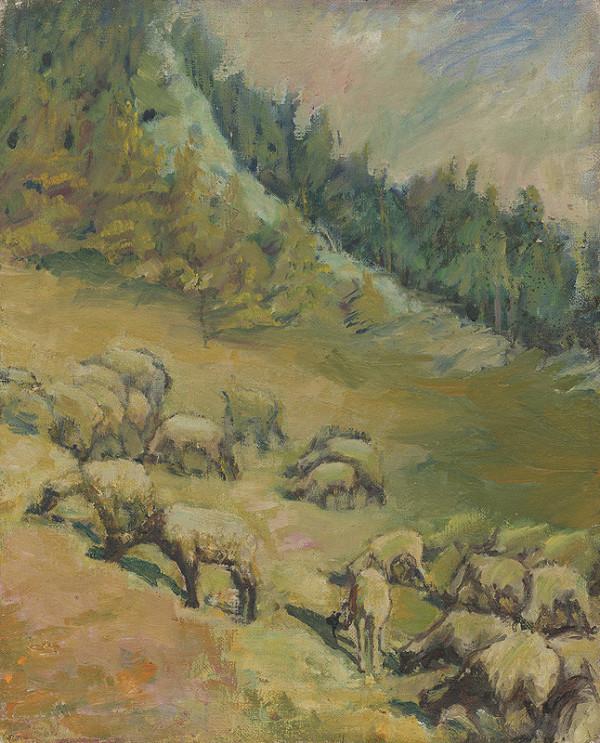 Želmíra Duchajová-Švehlová – Na pastve