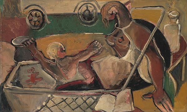 František Studený – Matka a dieťa