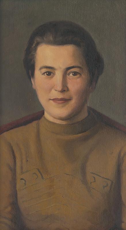 Vojtech Stašík – Portrét Zory Jesenskej