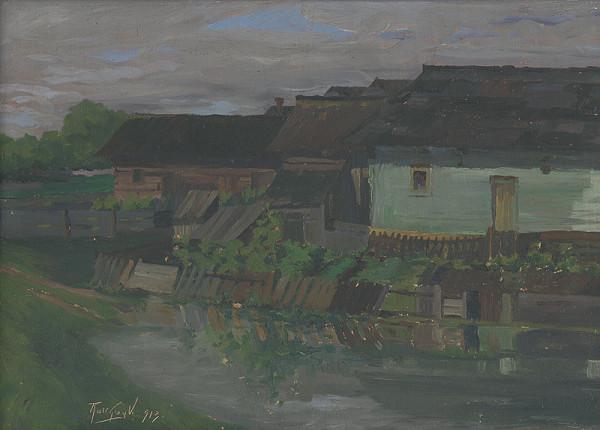 Viliam Ruttkay-Nedecký – Domy pri vode