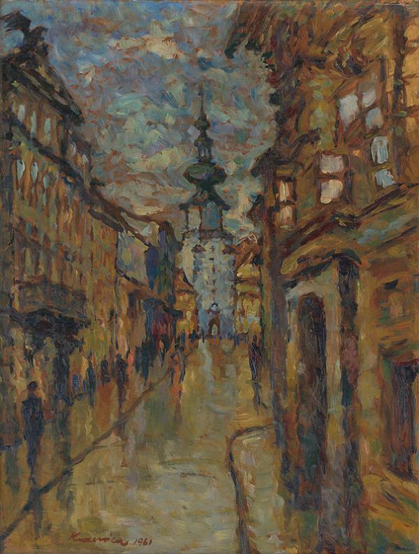 Herman Kvasnica – Pri Hornej tabuli. Michalská brána