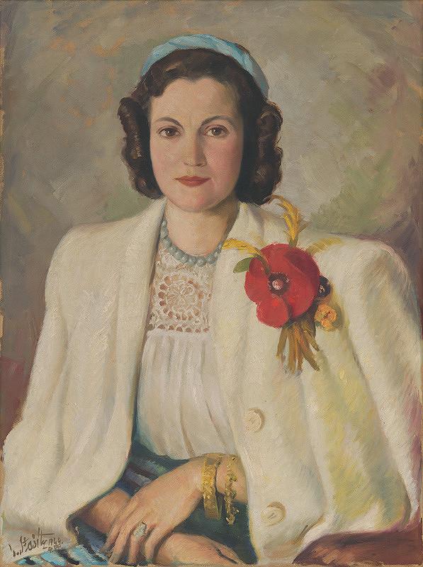 Vojtech Stašík – Portrét Ľudmily Reichlovej-Kuchárikovej