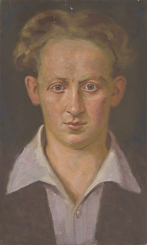 Milan Thomka Mitrovský – Portrét mladého muža