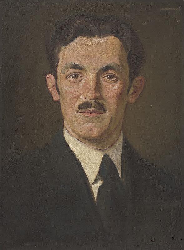 Milan Thomka Mitrovský – Portrét Dr. Neumana