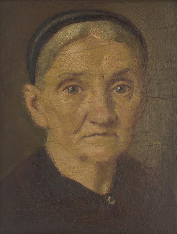 Milan Thomka Mitrovský – Portrét staršej ženy
