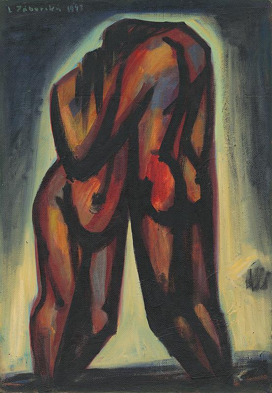 Ladislav Záborský – Adam a Eva. Po hriechu