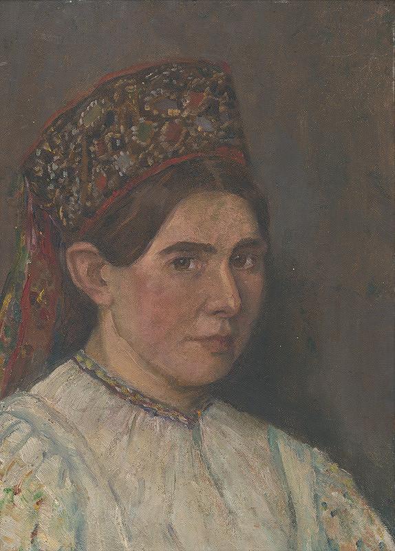 Želmíra Duchajová-Švehlová – Žena v kroji