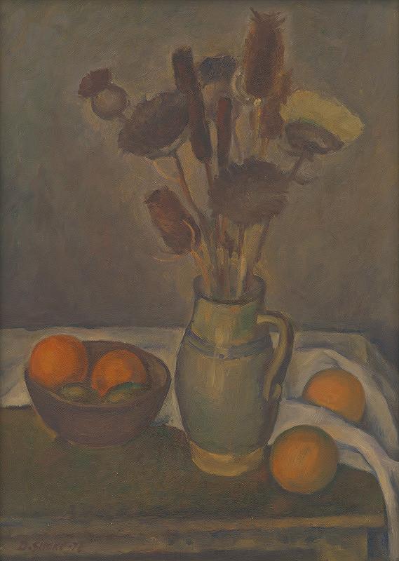 Dušan Šimko – Suché kvety a pomaranče