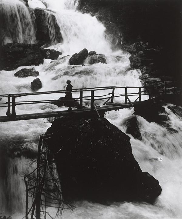 Karel Plicka – Studenovodské vodopády po jarných dažďoch, Vysoké Tatry