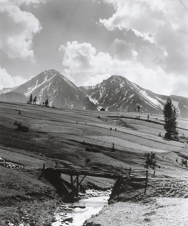 Karel Plicka – Belianske Tatry (Pohľad zo Ždiaru)
