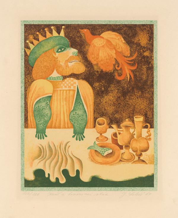 Ján Lebiš - Kráľ a hovoriaci vták