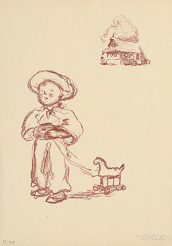 Jan Hála - Chlapec s koníkom