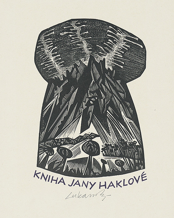 Jaroslav Lukavský – Ex libris Jany Haklovej
