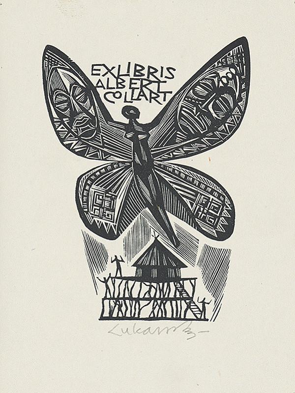 Jaroslav Lukavský – Ex libris Albert Collart