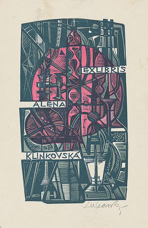Jaroslav Lukavský – Ex libris Aleny Klinkovskej